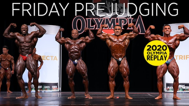Olympia Pre-Judging, Friday - Part 1