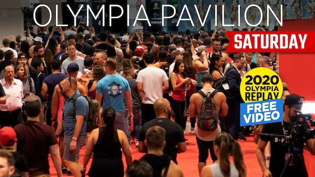 Olympia Pavillion, Saturday