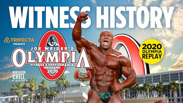 Olympia 2020 Premium Replay Package
