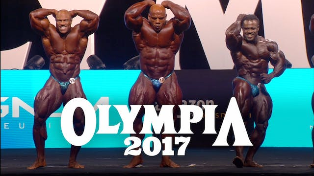 2017 Mr. Olympia Competition