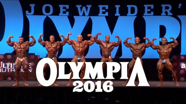 2016 Mr. Olympia Competition