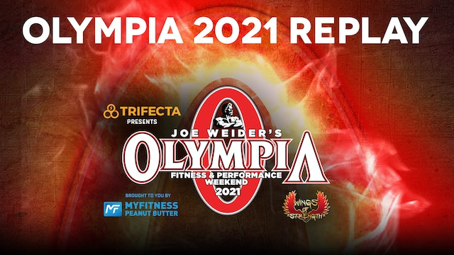 Olympia 2021 Premium Replay Package