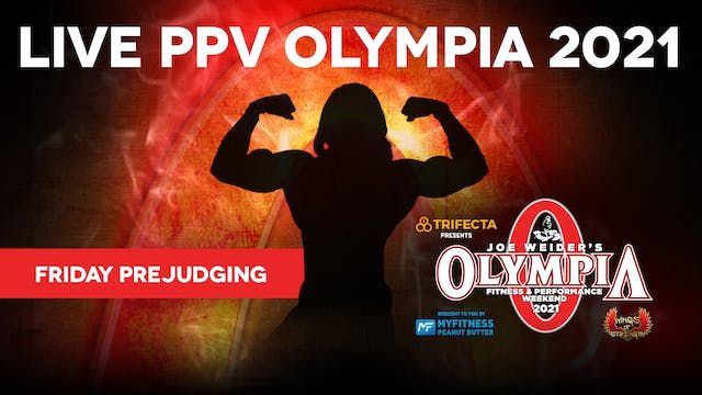 2021 Olympia Pre-judging, Friday