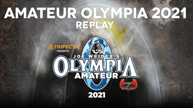 Amateur Olympia 2021 Replay Package