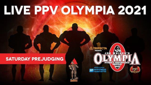2021 Olympia Pre-judging, Saturday