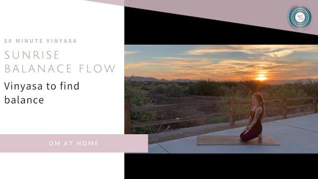 Sunrise Balance Flow