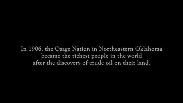 Cruel Oil - Osage Reign of Terror