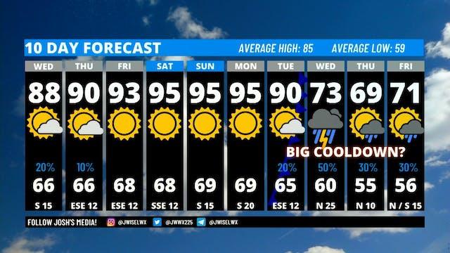 Wednesday Morning Weather - September 16