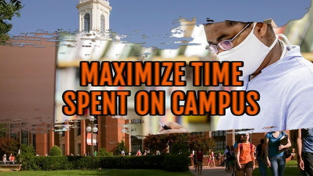 successful students - maximize time on campus