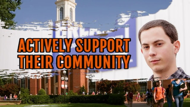 Successful Students - Actively support their communities