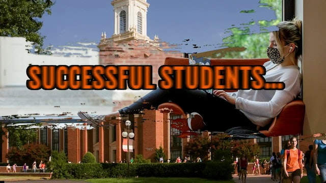 successful students - preparing for your first exams