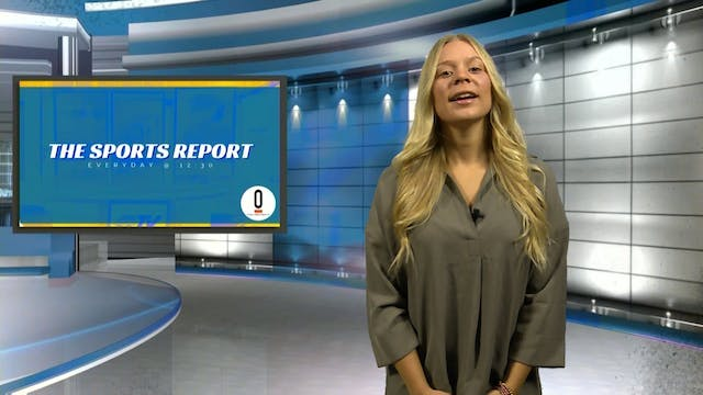 The Sports Report with Dylan Walker -...