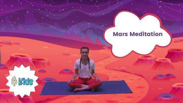 Travel To Mars | An OM Warrior Kids Meditation Story