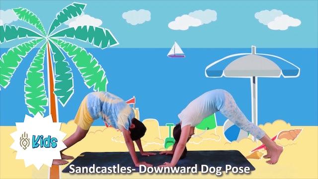 Summer Beach Yoga | An OM Warrior Kids Yoga Adventure