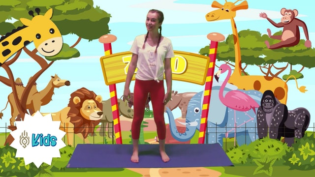 Journey Through The Zoo | An OM Warrior Kids Yoga Adventure