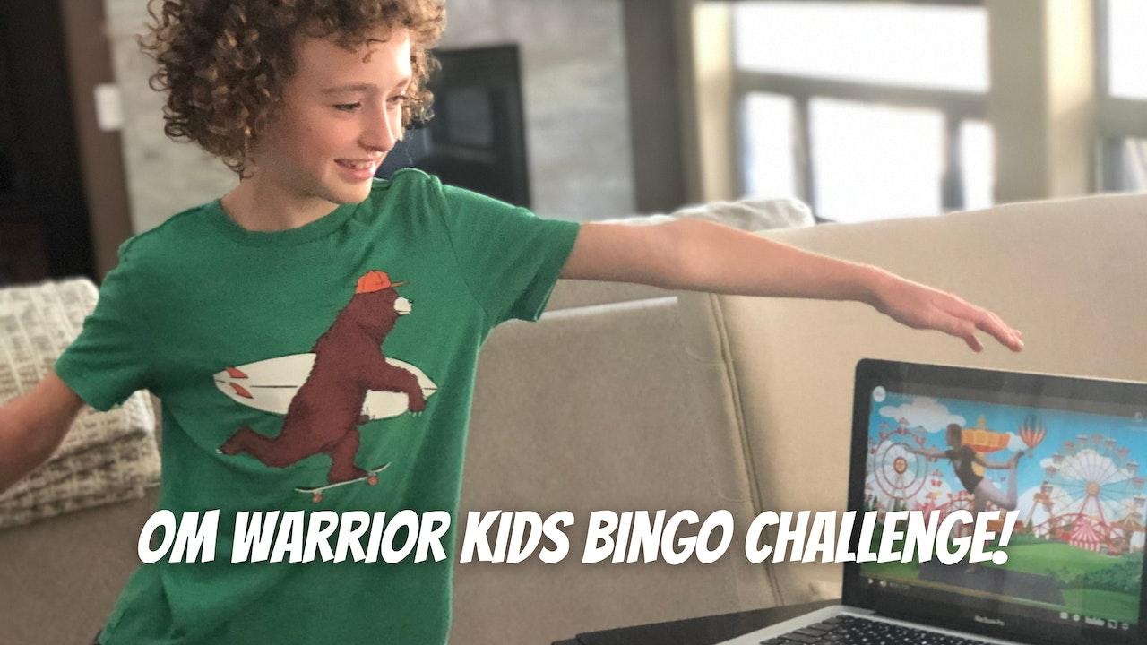 OM Warrior Kids Bingo Challenge!