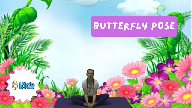 How To Practice Butterfly Pose | An OM Warrior Kids Yoga Pose Tutorial