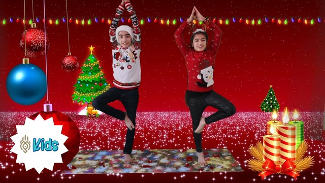 Merry Christmas | An OM Warrior Kids Holiday Yoga Video