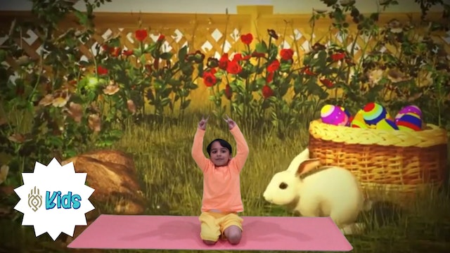 Bunny Breath | An OM Warrior Kids Mindful Breathing Exercise