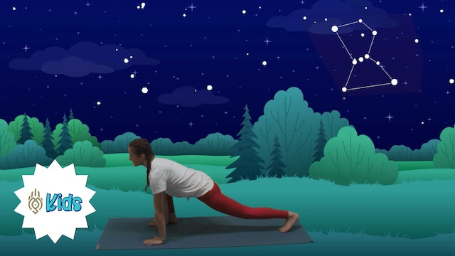 Learn About Star Constellations | An OM Warrior Kids Yoga Adventure