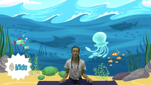 Whale Breathes | An OM Warrior Kids Mindful Breathing Exercise