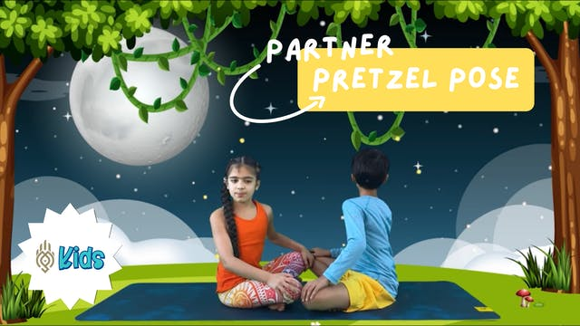 How To Practice Partner Pretzel Pose ...
