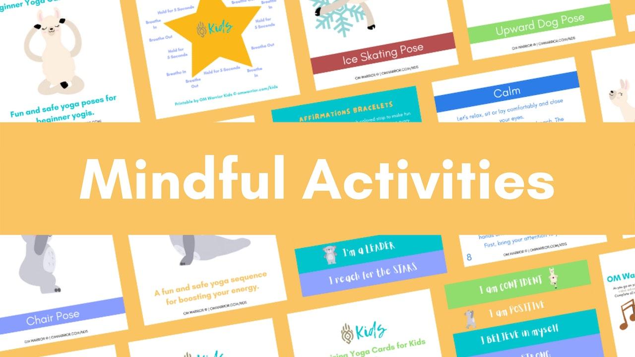 Downloadable Activity Printables 🌸