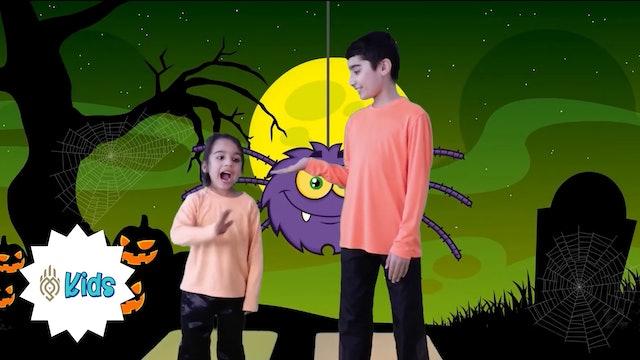 Halloween Sun Salutations 2 | An OM Warrior Kids Holiday Yoga Video