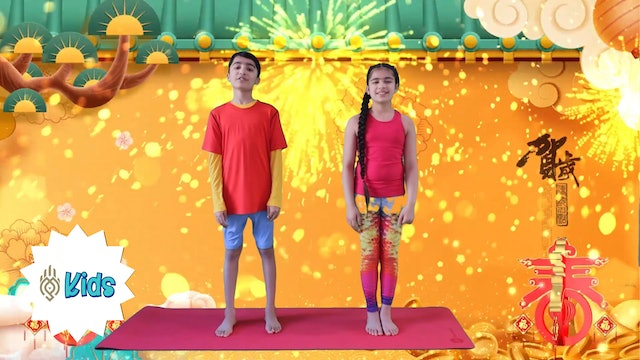 Chinese New Year | An OM Warrior Kids Holiday Yoga Video