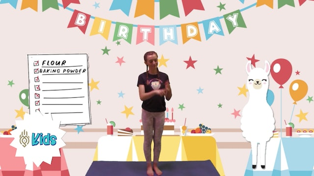 Happy Birthday Omie! | An OM Warrior Kids Yoga Adventure