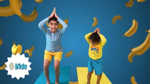 Banana Yoga | An OM Warrior Kids Pres...