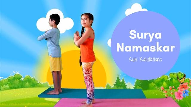3 Week Surya Namaskar Jounrey
