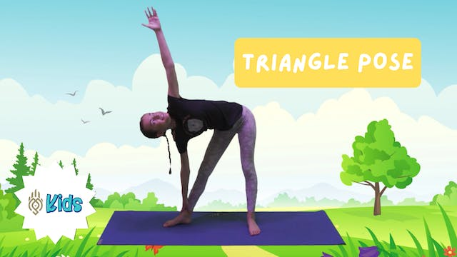 How To Practice Triangle Pose | An OM...