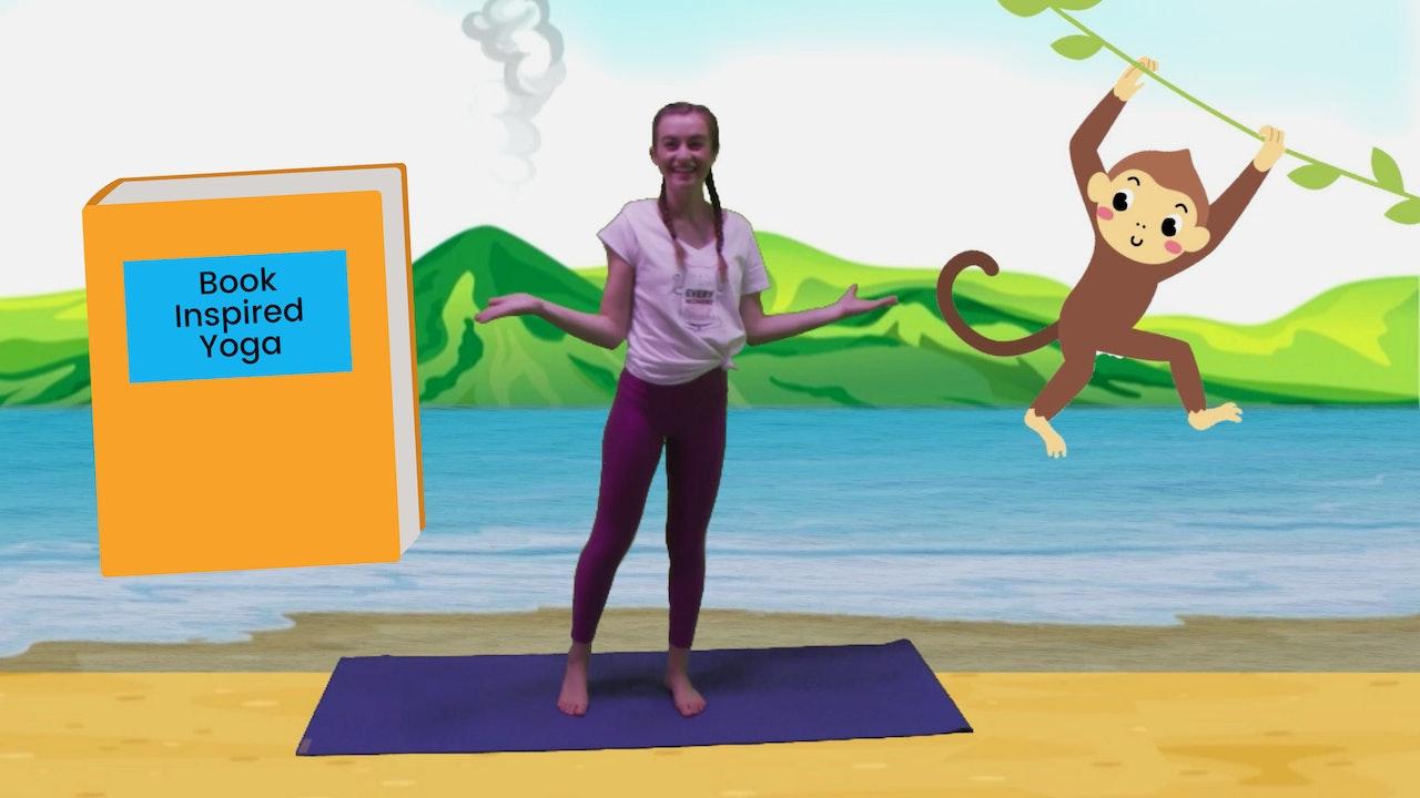 Book-Inspired Yoga 📔📚📖