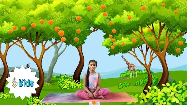 Mindful Eating Meditation | An OM Warrior Kids Mindfulness Adventure