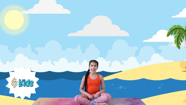 Deep Belly Breathing | An OM Warrior Kids Mindful Breathing Exercise