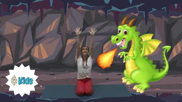 Dragon Breathes | An OM Warrior Kids Mindful Breathing Exercise