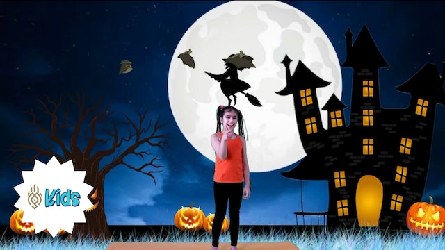 Halloween Party | An OM Warrior Kids Holiday Yoga Video