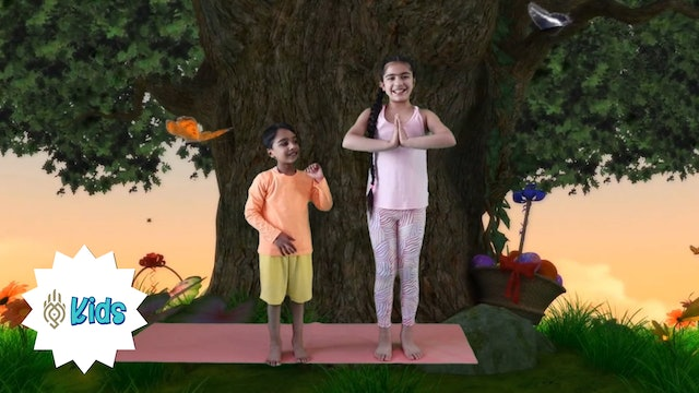Easter Sun Salutations | An OM Warrior Kids Holiday Yoga Video