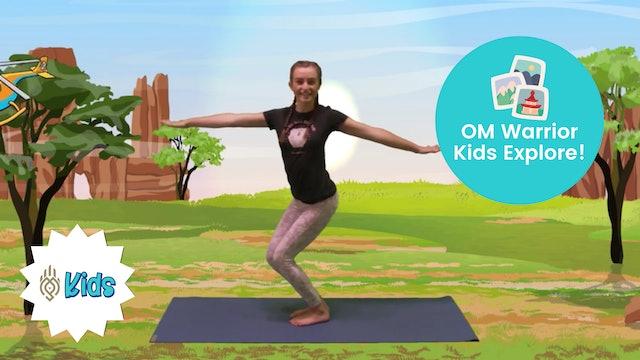 Explore Australia   An OM Warrior Kids Yoga Adventure