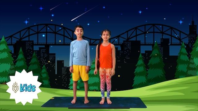Introduction to Partner Yoga | An OM Warrior Kids Yoga Pose Tutorial