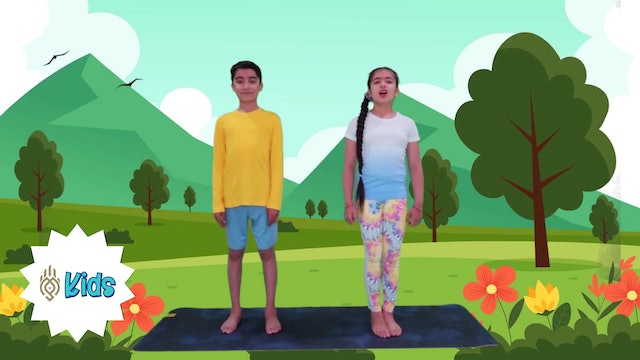 Everyday Is Earth Day | An OM Warrior Kids Holiday Yoga Video