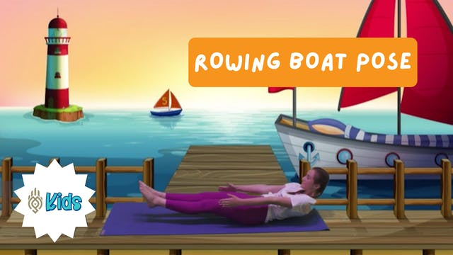 How To Practice Rowing Boat Pose | An...