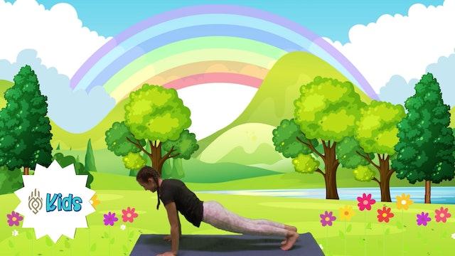 Garden Time | AN OM Warrior Kids Yoga Adventure