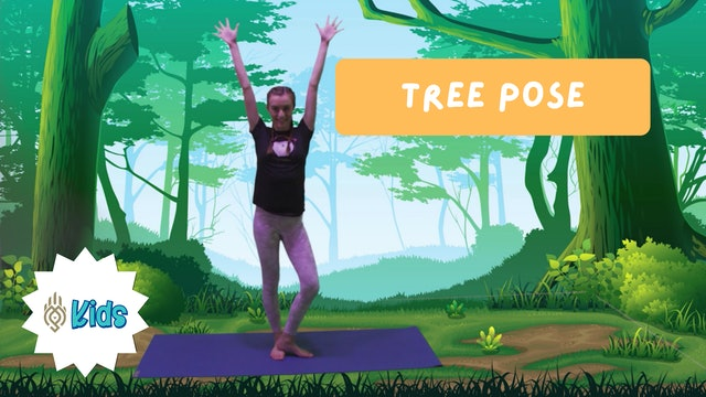 How To Practice Tree Pose | An OM Warrior Kids Yoga Pose Tutorial