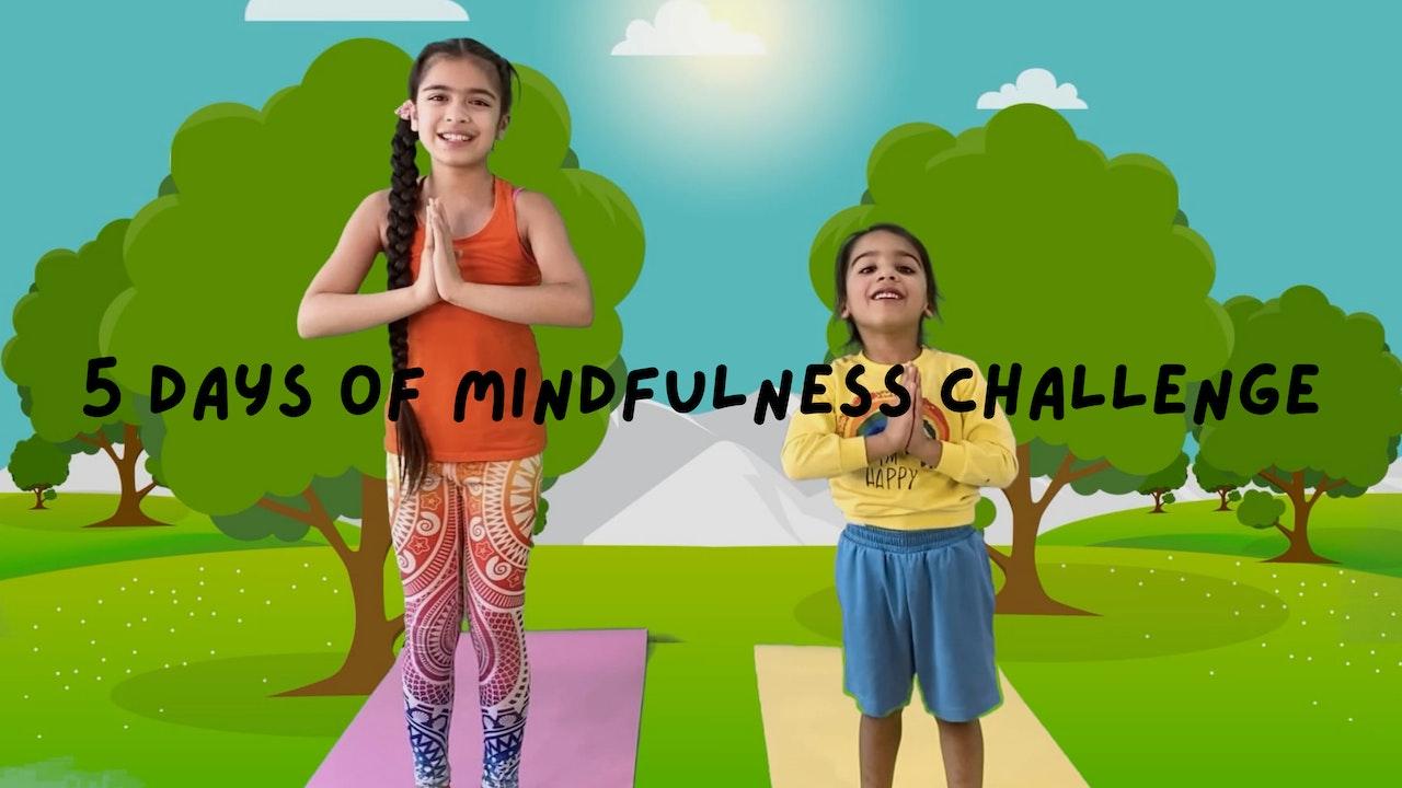 5 Days of Mindfulness Challenge