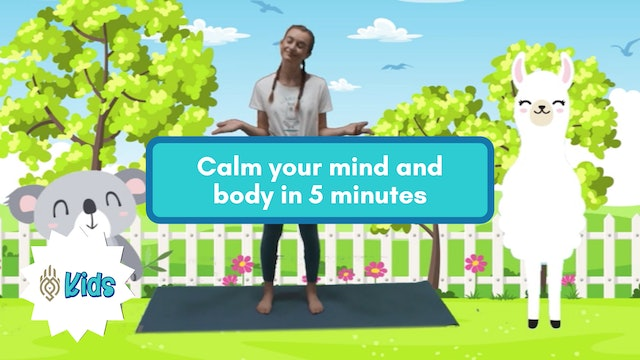 Calming Down | An OM Warrior Kids Mindfulness Adventure