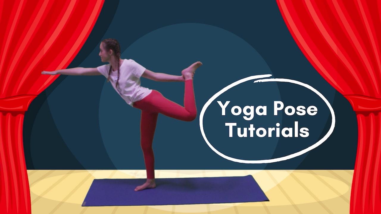 Yoga Pose Tutorials!