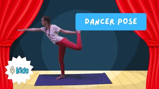 How To Practice Dancer Pose   An OM Warrior Kids Yoga Pose Tutorial