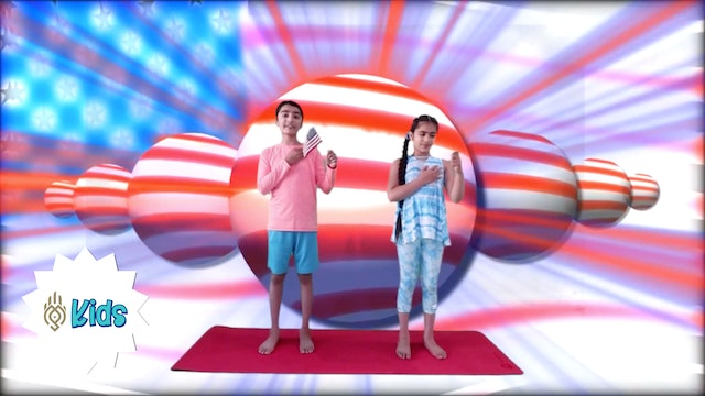 Memorial Day Yoga | An OM Warrior Kids Holiday Yoga Video